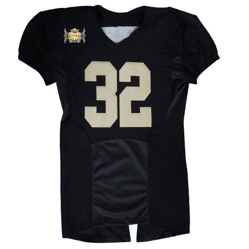 american football jersey black